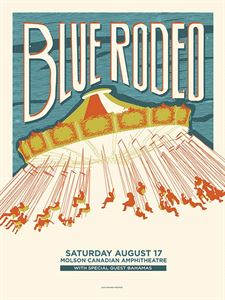 Picture of Molson Amphitheatre Summer 2013 [Screenprinted Poster]