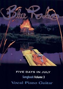 Picture of Blue Rodeo Song Book Vol. III - Five Days In July