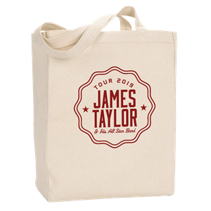 Picture of 2019 Tour Natural Tote Bag