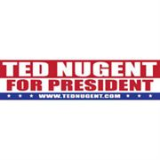 Picture of Ted Nugent for President Sticker