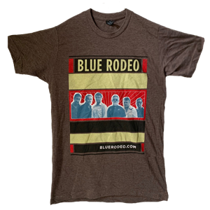 Picture of BlueRodeo.com Band Shot T-shirt [Brown]