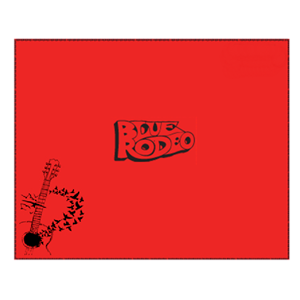 Picture of Blue Rodeo Red Fleece Blanket